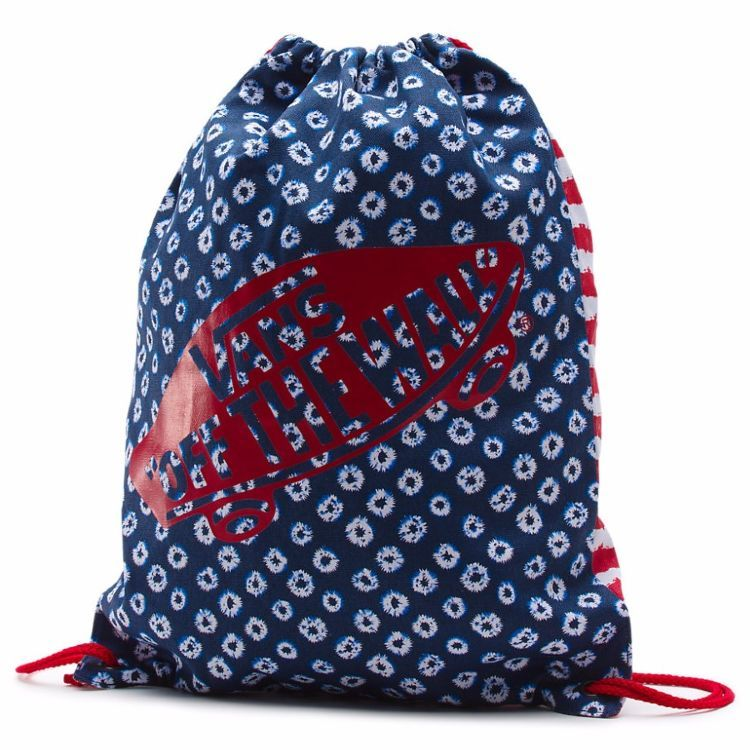 Мешок Vans Benched Novelty Bag Dyed Dots & Stripes Blue/Red