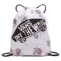 Сумка мешок Vans Benched Bag Evening Haze Paradise Floral бежевая