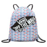 Сумка мешок Vans Benched Bag True Blue - Vans Love голубая
