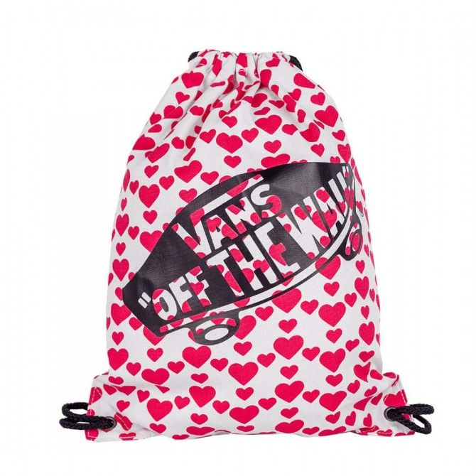 Мешок Vans Benched Novelty Hearts красный