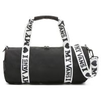 Сумка спортивная Vans Here We Go Duffle Black - Vans Love черная
