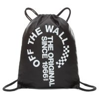 Сумка мешок Vans League Bench Bag Black - White черная