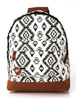 Рюкзак Mi-Pac Premium Aztec Native Black/White бежевый