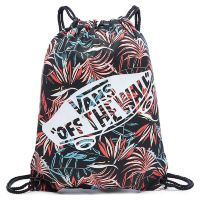 Сумка мешок Vans Benched Novelty Bag Black California Floral розовая