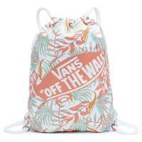 Сумка мешок Vans Benched Novelty Bag White California Floral розовая