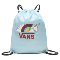 Сумка мешок Vans Benched Bag Light Blue - Rainicorn голубая