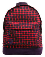 Рюкзак Mi-Pac Premium Basket Weave Navy/Red