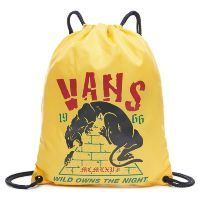 Сумка мешок Vans League Bench Bag Old Gold желтая