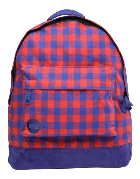 Рюкзак Mi-Pac Premium Gingham Red/Blue