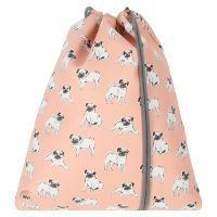 Мешок Mi-Pac Kit Bag Pugs Peach розовый