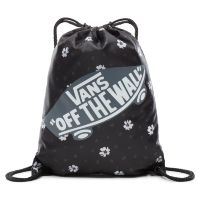 Сумка мешок Vans Benched Bag Black Abstract Daisy черная
