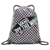 Сумка мешок Vans Benched Bag Rose Checkerboard серая