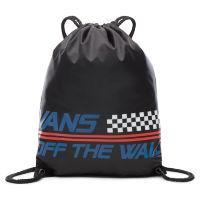 Сумка мешок Vans Benched Bag Black - Racing Team черная
